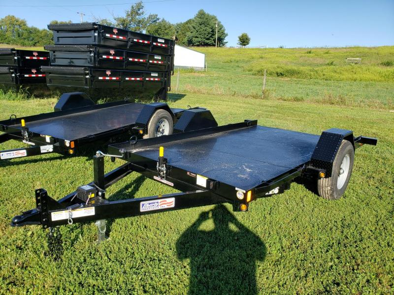 Liberty 79x12 7K Tilt Scissor Lift Trailer