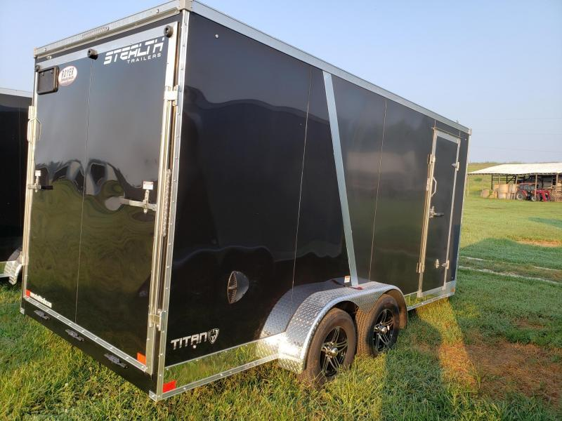 Stealth Titan 7X16 +12 (7' Interior Height) Enclosed Cargo Trailer
