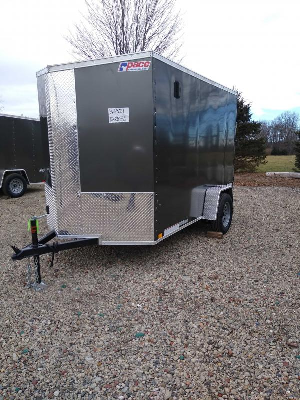 2022 Pace American PSCBC6.0X10SI2FF Cargo Trailer