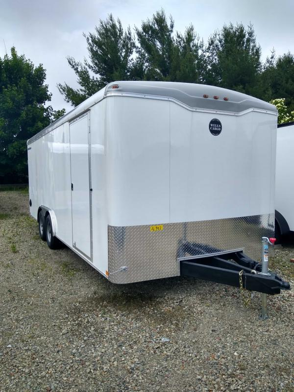 2020 Wells Cargo RF8520T3 Enclosed Cargo Trailer