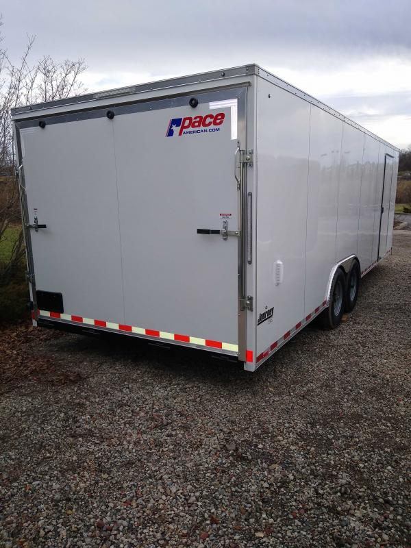 2022 Pace American PSABC8.5X24TE3FF Enclosed Cargo Trailer