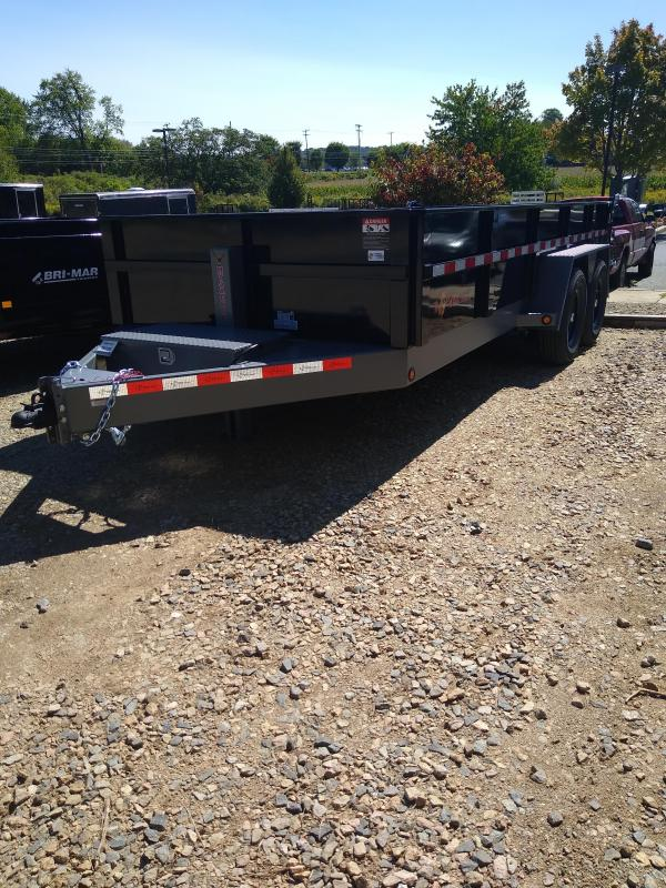 2021 B-Wise DLP16-15 Dump Trailer