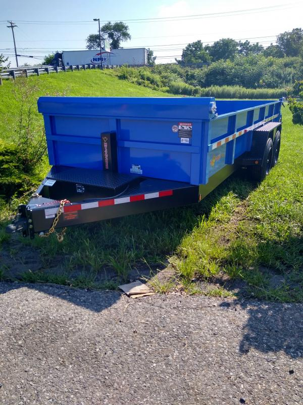 2020 BWISE DLP16-17 Dump Trailer