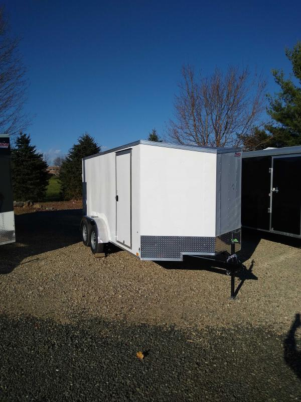 2021 Pace American PSCAB7.0X14TE2FF Cargo Trailer Enclosed Cargo Trailer