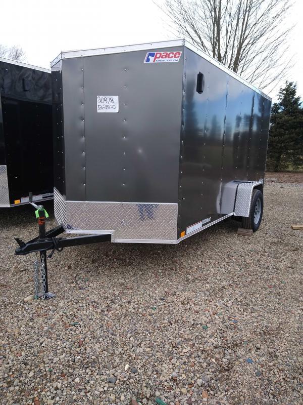 2021 Pace American OB6X12SI2FF Enclosed Cargo Trailer