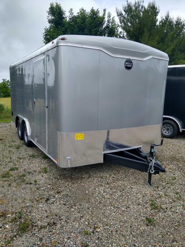 2020 Wells Cargo RF8516T2 Enclosed Cargo Trailer