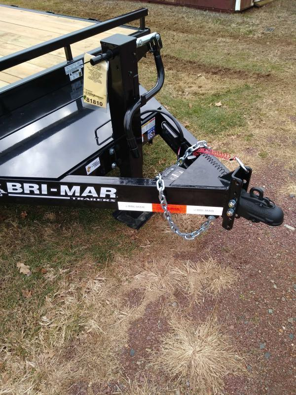 2022 Bri-Mar EH824-14 Equipment Trailer