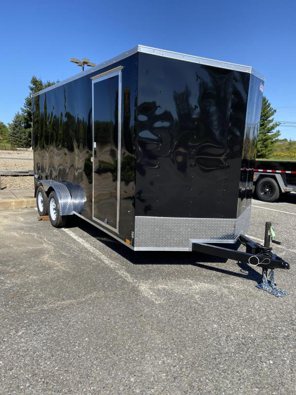 2021 Pace American PSCAB7.0X16TE2FF Cargo Trailer Enclosed Cargo Trailer