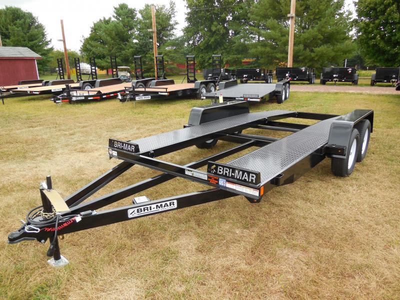 2020 Bri-Mar CH16-7-OPEN Car / Racing Trailer