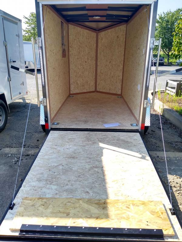 2021 Pace American PSCAB5.0X08SI2FF Enclosed Cargo Trailer