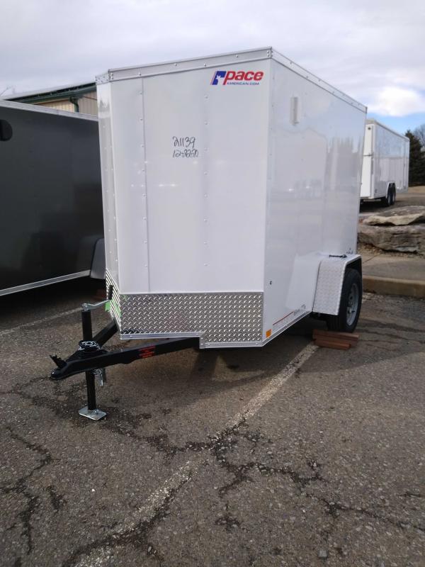 2021 Pace American OB5X8SI2DLX Enclosed Cargo Trailer