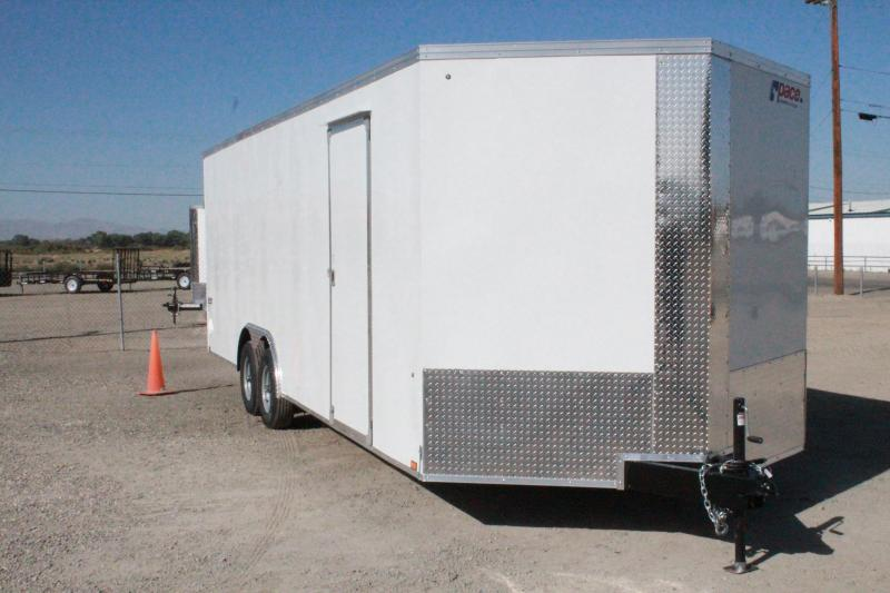 2021 Pace American 8.5X24 Journey Auto SE Flat Cargo/Enclosed Trailer $9995
