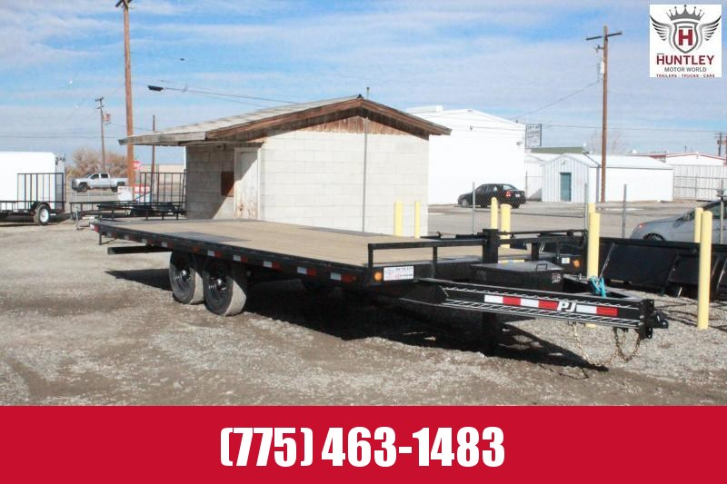 2021 PJ Trailers Deckover Tilt (T8) Equipment Trailer $ 8695
