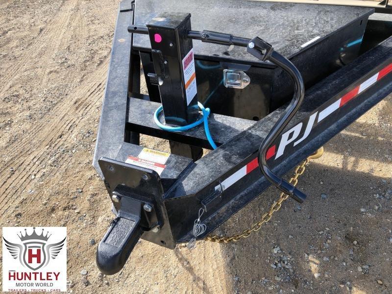"""2022 PJ Trailers 82.5"""" x 16' HD Low-Pro Dump (DE) Dump Trailer"""