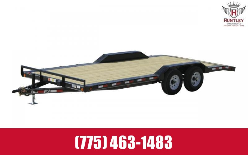 "102"" x 18' (B5) 2021 PJ Trailers- Equipment/Carhauler Trailer"