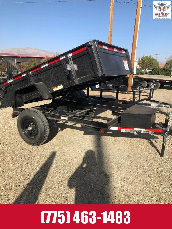 5X8 Low Pro 5K Dump Trailer 2021 Carry-On