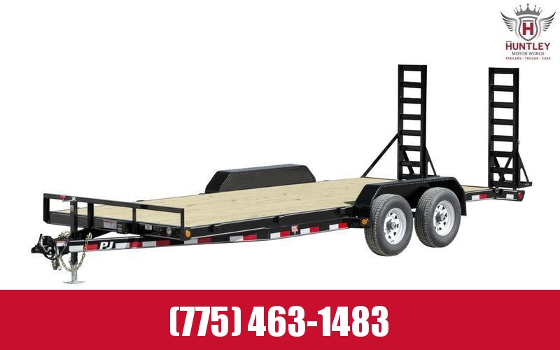 "2021 PJ Trailers 83"" x 18' 5"" Channel Equipment (CE) Equipment Trailer"
