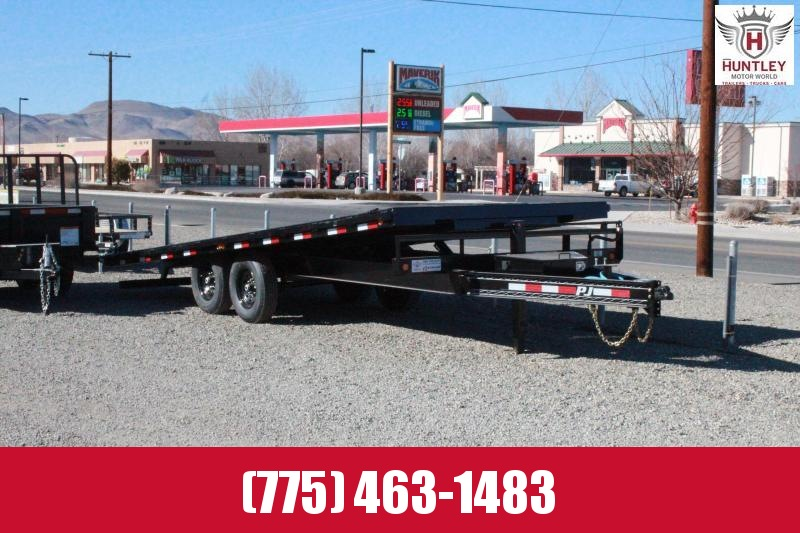 2021 PJ Trailers Deckover Tilt (T8) Equipment Trailer $9595