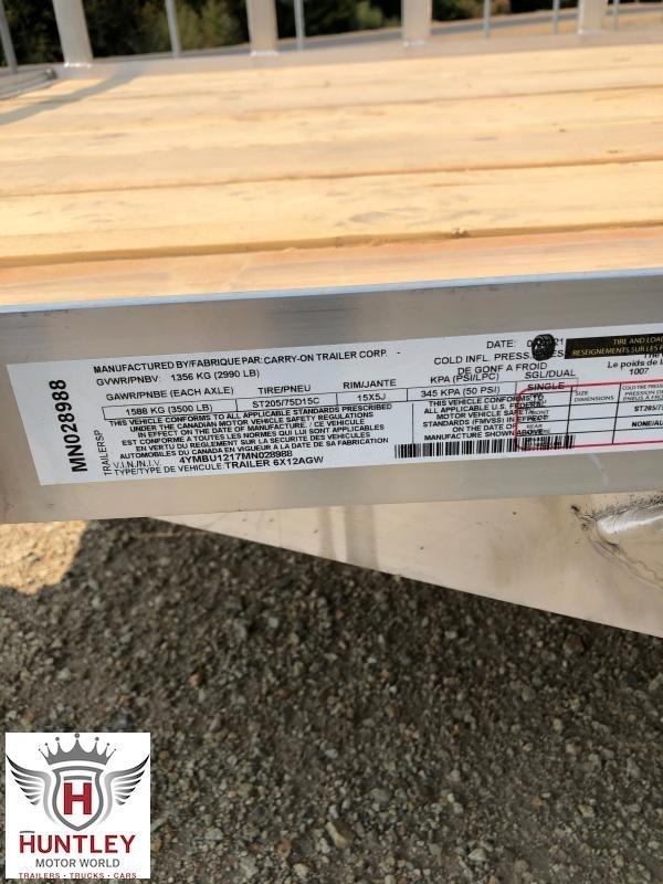 6X12 AGW Carry On Utility Trailer
