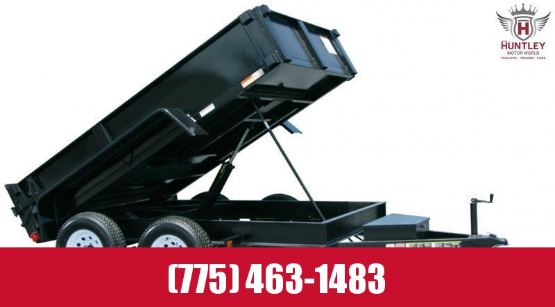 5X10DUMPLP10K 2021 Carry-On Dump Trailer