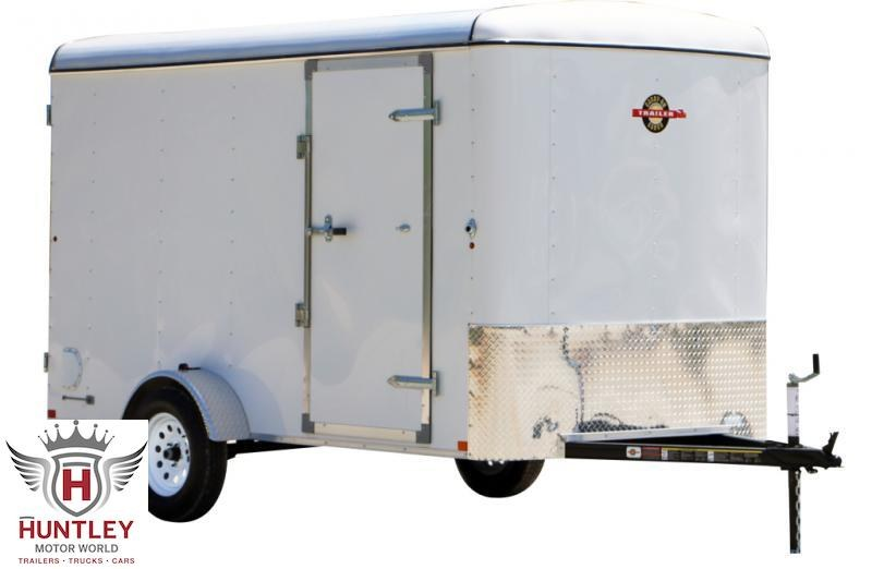 7X12 (CGR1AXLE) Carry-On Enclosed Cargo Trailer