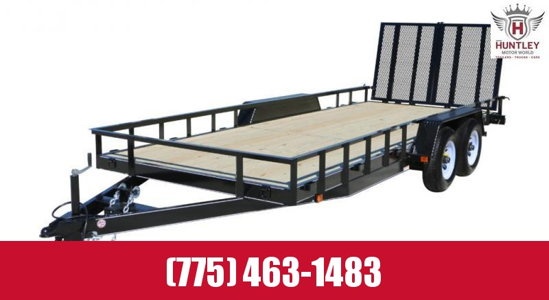 7X16 Carry-On HD Landscape Utility Trailer