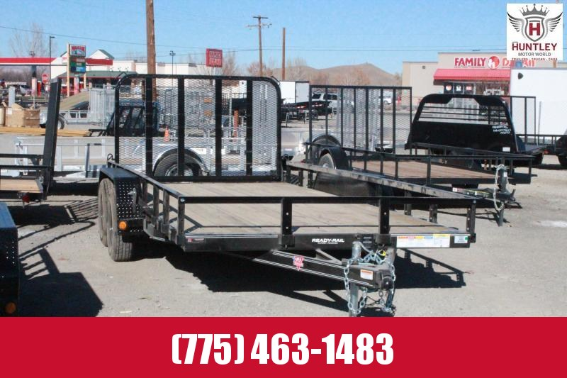 2021 PJ Trailers 83 in. Tandem Axle Channel Utility (UL) Utility Trailer $3495
