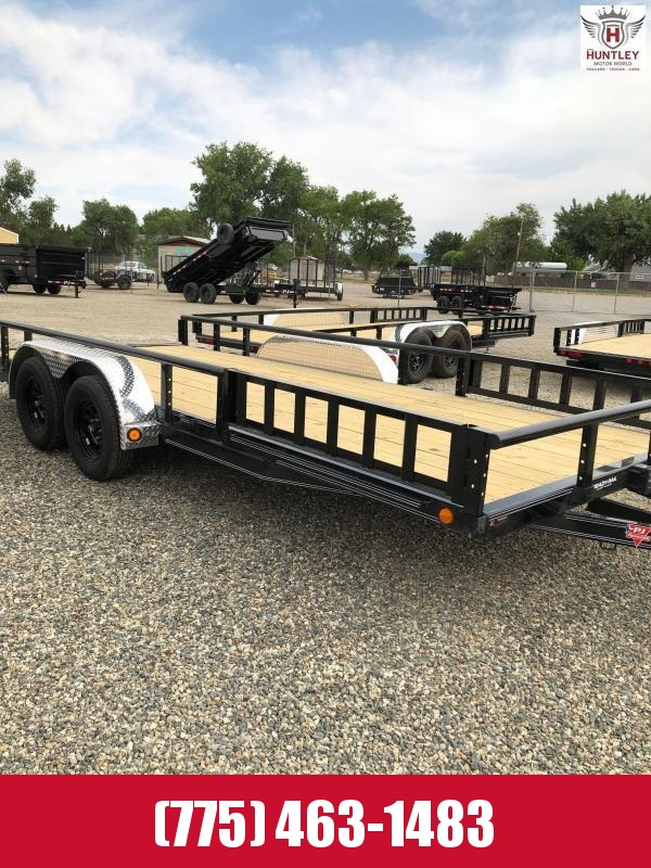 "83"" x 18' Tandem Axle Channel Utility (UL) Utility Trailer 2022 PJ Trailers"