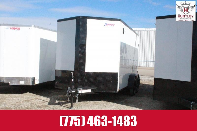 2021 Pace American Journey Cargo Trailer with Blackout Package!
