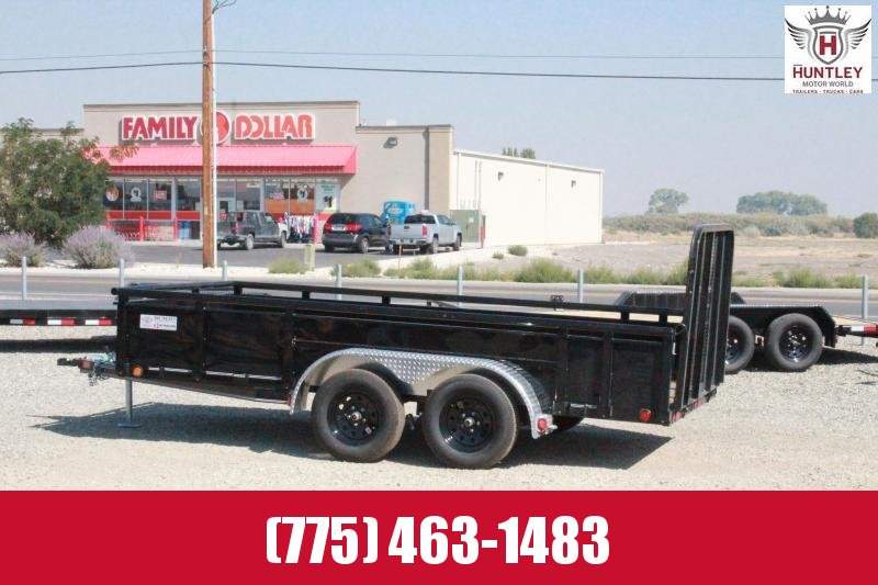 2021 PJ Trailers UK 14' Tandem Axle Channel Utility Trailer $3795
