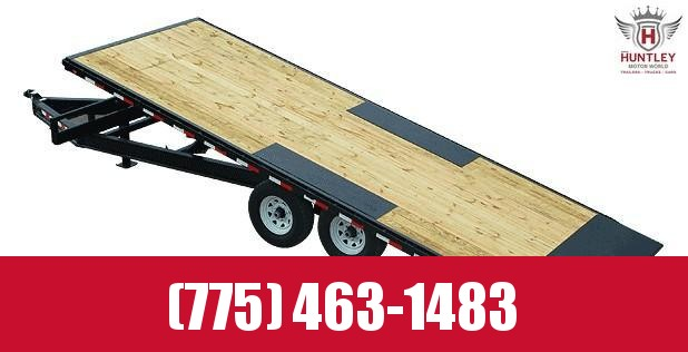 "102""x22' 2021 PJ Trailers Deckover Tilt (T8) Equipment Trailer"
