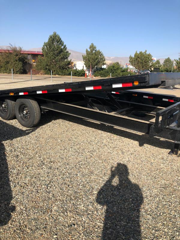 "102""x22' 2021 PJ Trailers Deckover Tilt (T8) Equipment Trailer"