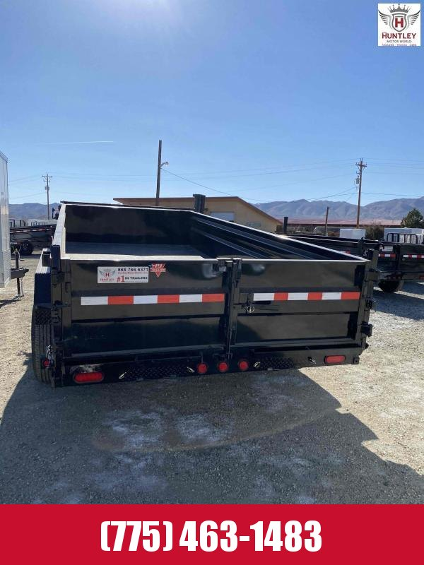 "2021 PJ Trailers 83"" x 16' 14K Low-Profile Dump PRO (DL) Dump Trailer"