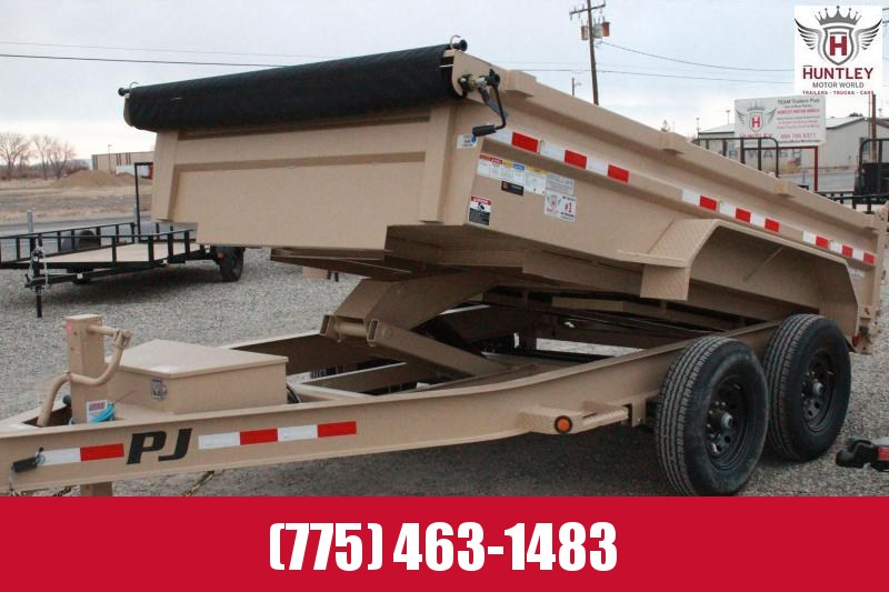 2021 PJ Trailers 83 in. Low Pro Dump (DL) Dump Trailer $9595