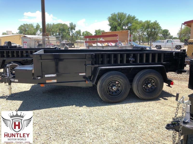 7X12 Carry-On Dump Trailer