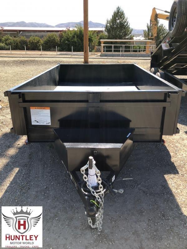 6X10 Carry-On Dump Trailer