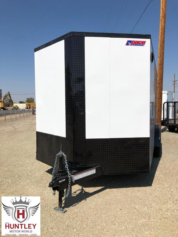 7.5X16 Pace American Journey Cargo Se Flat  Cargo / Enclosed Trailer