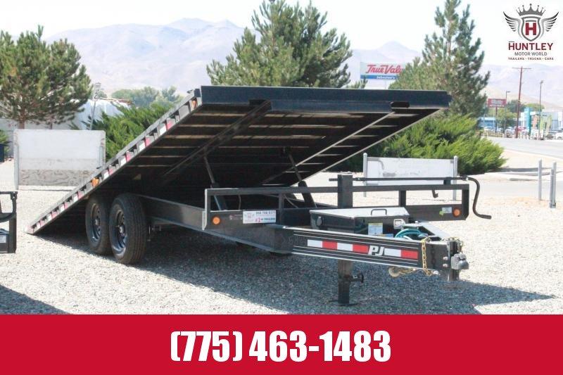 2021 PJ Trailer Deckover Tilt Deck 22' Trailer $8595.