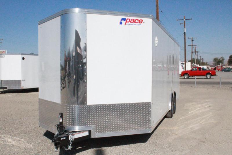 2021 Pace American 8.5X24 Cargosport Auto Flat  Car / Racing Trailer $10295