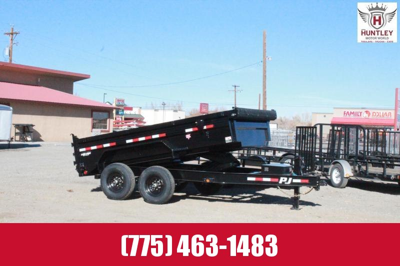 2021 PJ Trailers 83 in. Low Pro Dump (DL) Dump Trailer  $9995