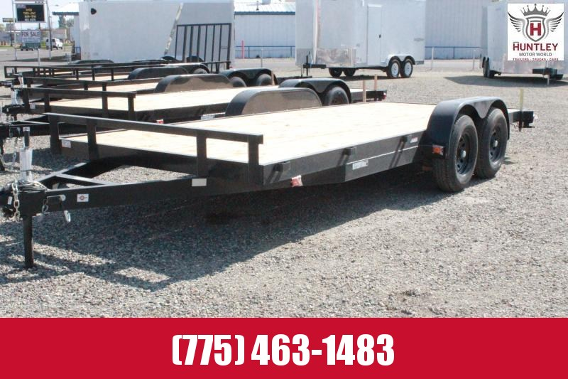 2020 Carry-On 7X18HDEQFTSR Equipment Trailer