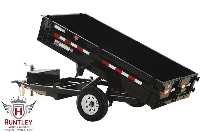 "2022 PJ Trailers 60"" x 10' 60"" Utility Dump (D5) Dump Trailer"