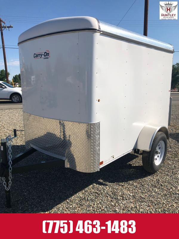 5X8CGR Enclosed Cargo Trailer 2021 Carry-On