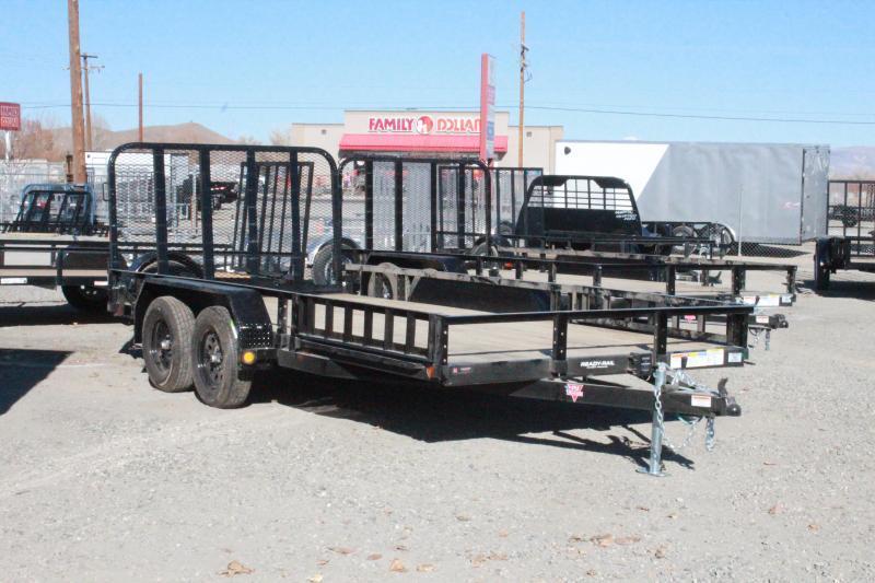 2021 PJ Trailers 83 in. Tandem Axle Channel Utility (UL) Utility Trailer $3595