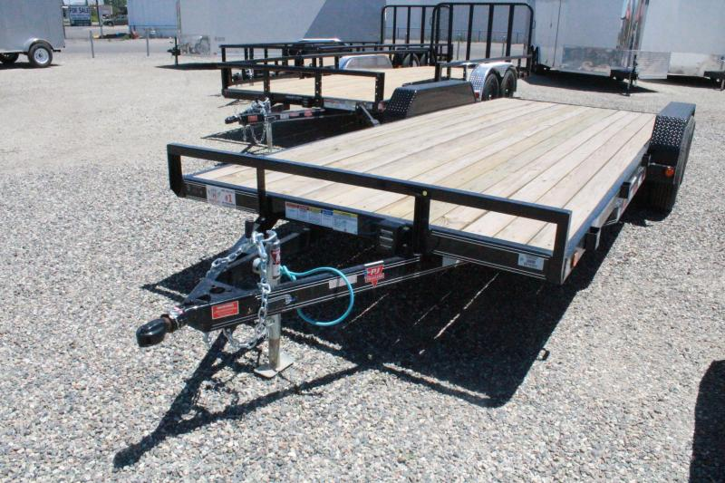 "2020 PJ Trailers 20' x 4"" Channel Carhauler Trailer"