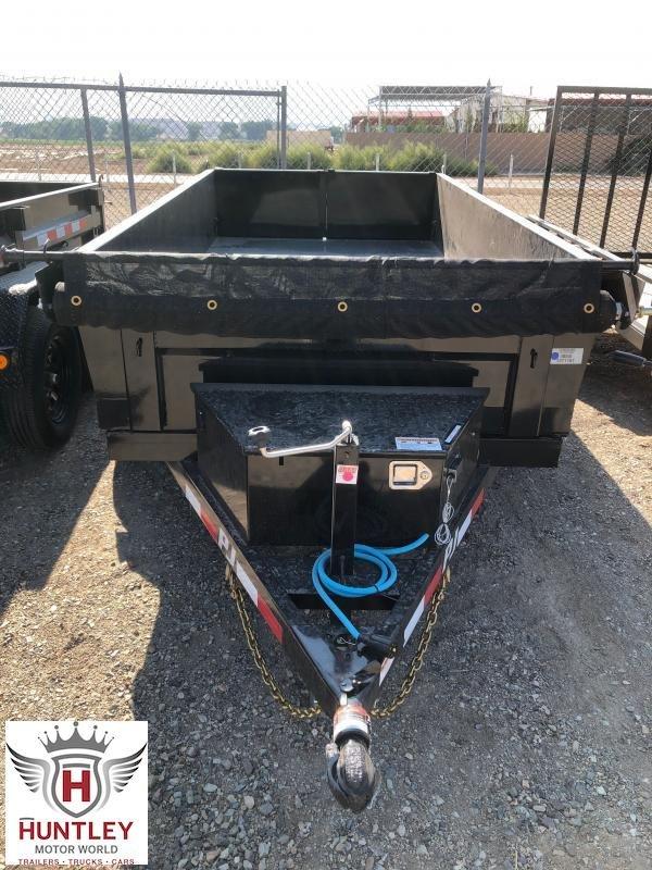 "10X60"" (D5) PJ Trailers Utility Dump"