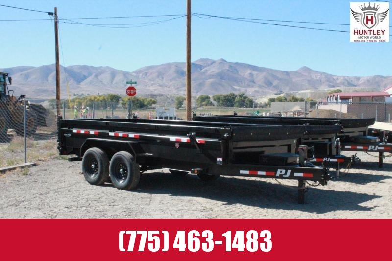 2021 PJ Trailers 83 in. Low Pro Dump (DL) Dump Trailer $9895