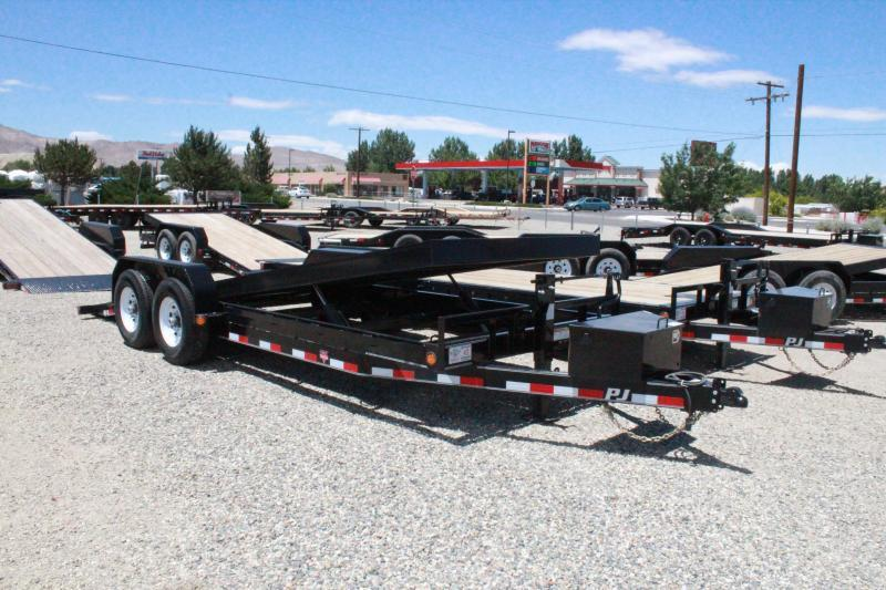 "2020 PJ Trailers TF 83""X22 Full Powered Tilt Deck Now only $7195"