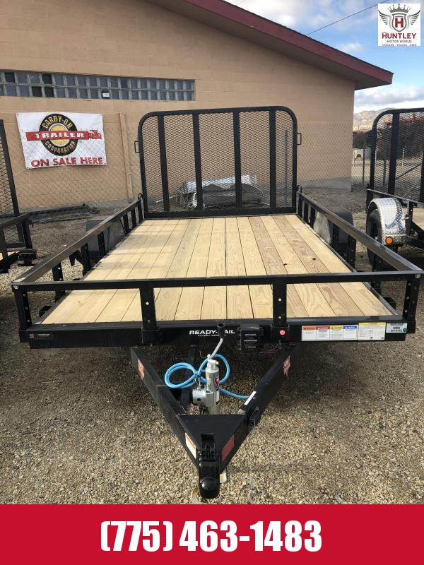 2021 PJ Trailers 77 in. x 12' Single Axle Channel Utility (U7) Utility Trailer
