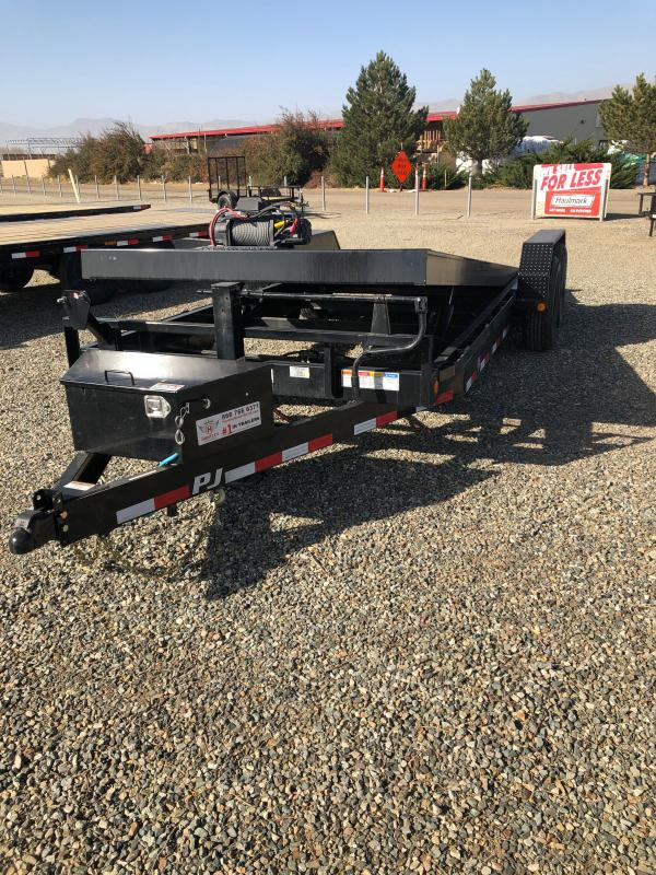 20' Powered Full Tilt PJ Trailer (TF) Equipment Trailer